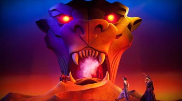 Aladdin and the Cave of Wonders